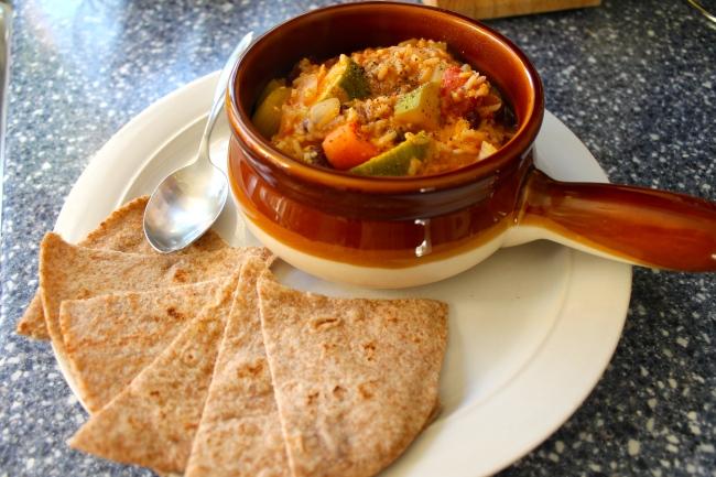 Vegan Jambalaya!   cheap eats for the green bean